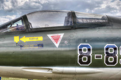 Photograph - Turkish Air Force F104g Starfighter by David Pyatt