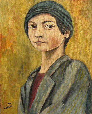Painting - Turkish Boy by John Keaton