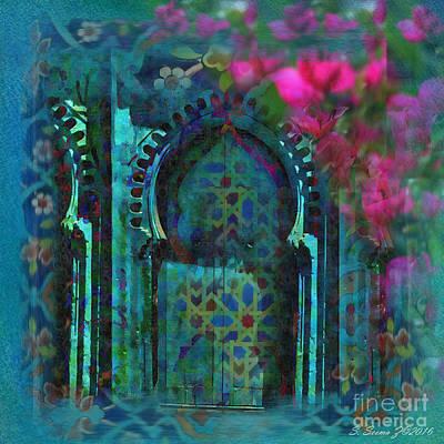 Turkish Mixed Media - Turkish Door by S Seema Z