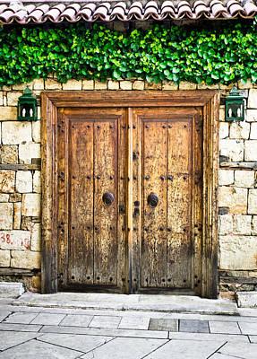 Metal Photograph - Turkish Door by Tom Gowanlock