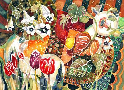 Painting - Turkish Garden by Ann Nicholson