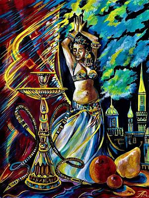 Painting - Turkish Night by Anna Duyunova