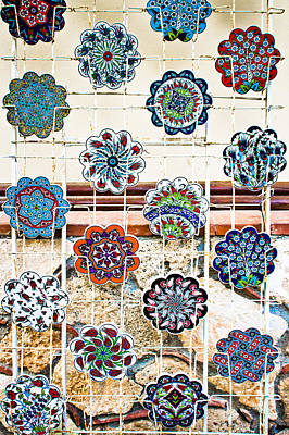 Turkish Pottery Art Print by Tom Gowanlock