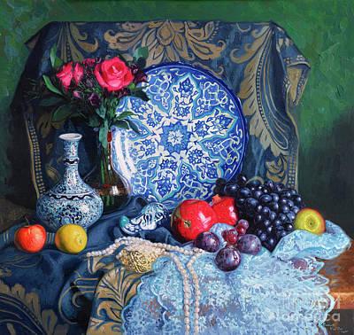 Painting - Turkish Still Life by Simon Kozhin