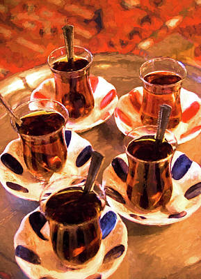 Digital Art - Turkish Tea by Dennis Cox Photo Explorer