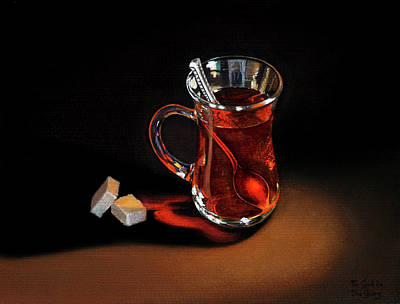 Pastel - Turkish Tea by Rebecca Giles