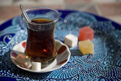 Turkish Tea Art Print by Steve Outram