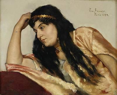 Bonny Painting - Turkish Woman by Eva Bonnier