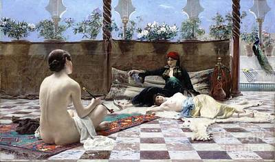 Painting - Turkish Women by Reproduction