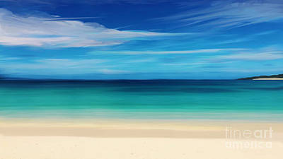 Mixed Media - Turks And Caicos by Anthony Fishburne