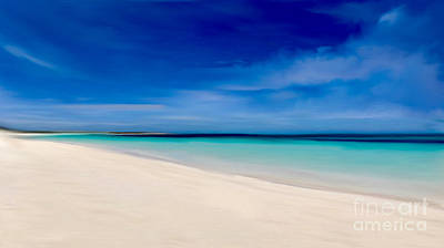 Mixed Media - Turks Island Life by Anthony Fishburne