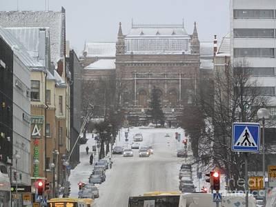 Turku Art Museum Art Print