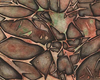 Painting - Turmoil by Edwin Alverio