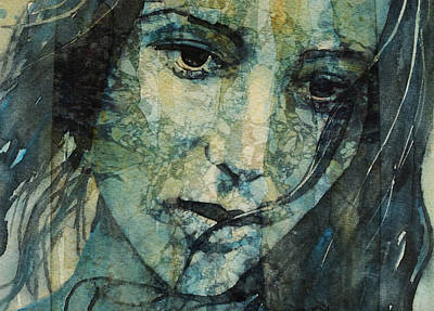 Portraits Digital Art - Turn Down These Voices Inside My Head by Paul Lovering