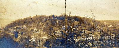 Photograph - Turn Of The Century Dyckman Street Panorama by Cole Thompson