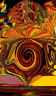 Digital Art - Turn Round by Phillip Mossbarger