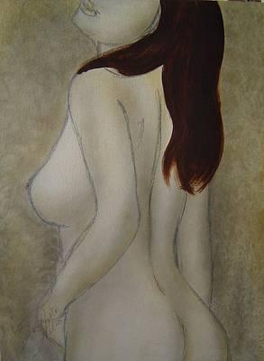 Turn To Me Art Print by Bridgette  Allan