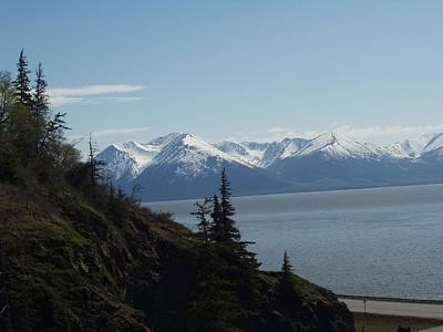 Photograph - Turnagain Arm Alaska by Sheila J Hall