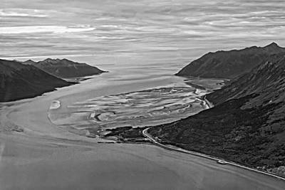 Photograph - Turnagain Arm Alaska by Waterdancer