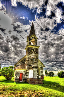 Photograph - Turnbridge Church Nd by Kevin Bone