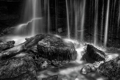 Photograph - Turner Bend Falls by James Barber