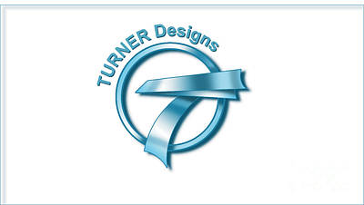 Digital Art - Turner Designs Logo by Dale Turner