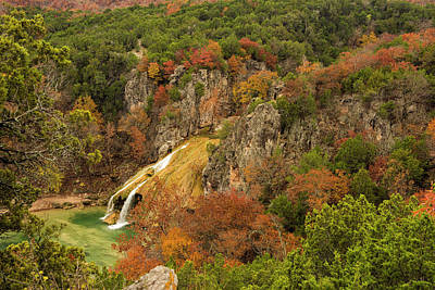 Photograph - Turner Falls Autumn by Katherine Worley