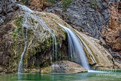 Photograph - Turner Falls by Charles Dobbs