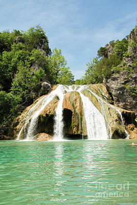 Photograph - Turner Falls Frontview by Sari ONeal
