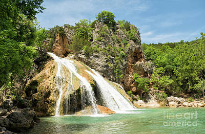 Photograph - Turner Falls Sideview  by Sari ONeal