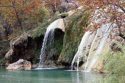 Photograph - Turner Falls View In Fall by Sheila Brown