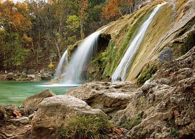 Photograph - Turner Falls Xviii by Ricky Barnard