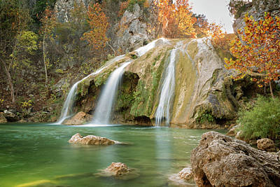 Photograph - Turner Falls Xx by Ricky Barnard