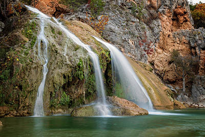 Pop Art Rights Managed Images - Turner Falls XXI Royalty-Free Image by Ricky Barnard