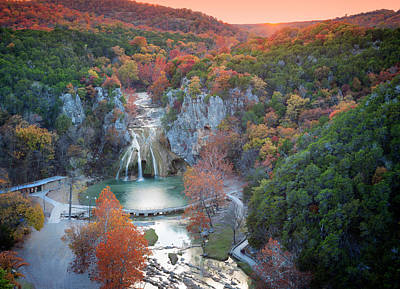 Photograph - Turner Falls Xxii by Ricky Barnard