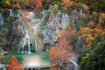 Photograph - Turner Falls Xxiii by Ricky Barnard