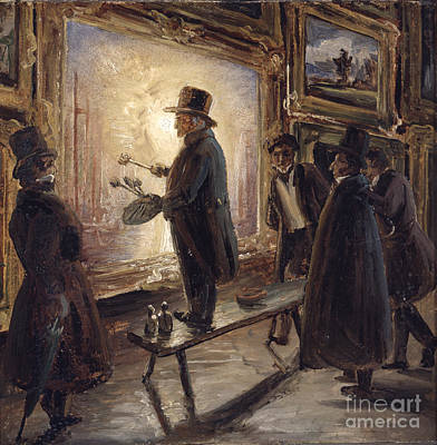Fearnley Painting - Turner Fernisserer by Thomas Fearnley