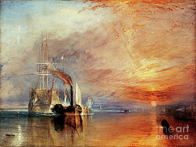 Painting - Turner, Fighting Temeraire by Granger