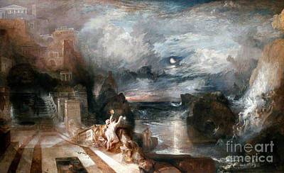 Leander Painting - Turner: Hero & Leander by Granger