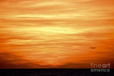Seascape Photograph - Turneresque Sunset by Debra Banks