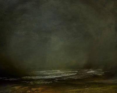 Emotion Mixed Media - Dark Coastline by Lonnie Christopher