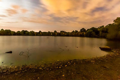 Photograph - Turners Pond After Dark by Brian MacLean
