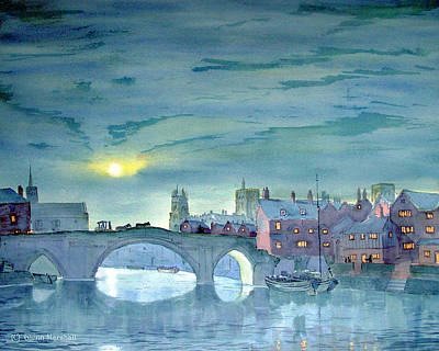 Painting - Turner's York by Glenn Marshall