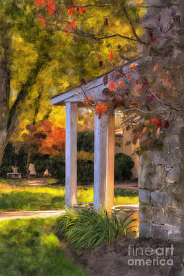 Digital Art - Turning A Corner by Lois Bryan