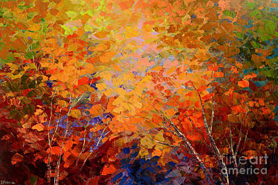 Painting - A Turning Leaf by Tatiana Iliina