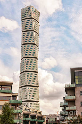 Malmo Photograph - Turning Torso In Malmo by Antony McAulay