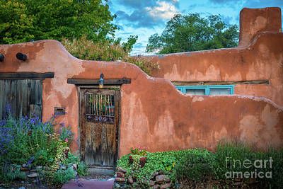 Photograph - Turqoise Santa Fe by Inge Johnsson