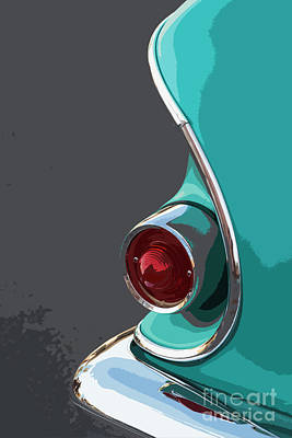 Photograph - Turquoise '58 by Dennis Hedberg