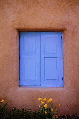 Photograph - Turquoise And Adobe by Heidi Hermes