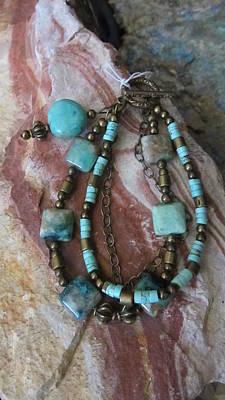 Jewelry - Turquoise #b006 by Barbara Prestridge